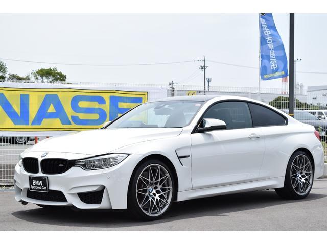 BMW M4クーペ コンペティションパッケージ認定中古車全国1年保証