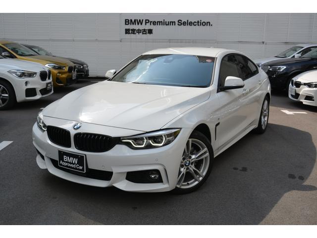 BMW 4シリーズ 420iグランクーペ Mスポーツ ワンオナ禁煙車 ETC