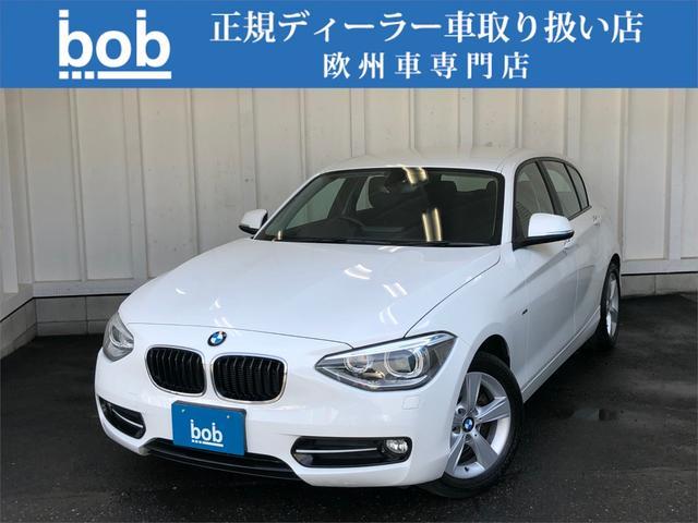 BMW 116i スポーツ 純正ナビ&Bカメラ ワンオーナー 禁煙車