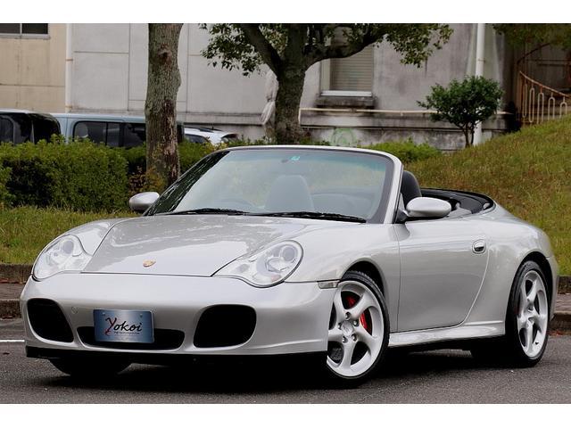 ポルシェ 911カレラ4S  カプリオレ ティプトロS 右ハンドル仕様