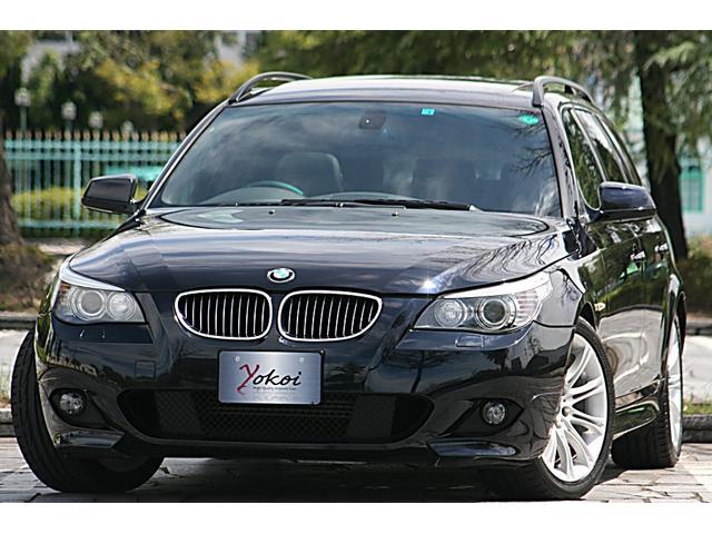 BMW 525iツーリング Mスポーツパッケージ LCIモデル 後期最終型 新HDDナビ
