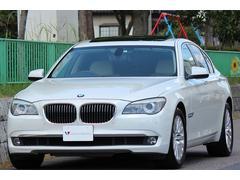 BMW740i 1オーナー コンフォートP 革 SR ナビ TV