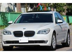 BMW740i コンフォートP 黒革 SR ナビ 地デジ DVD