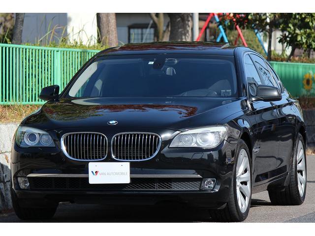 BMW アクティブハイブリッド7 コンフォートP SR黒革 ナビTV