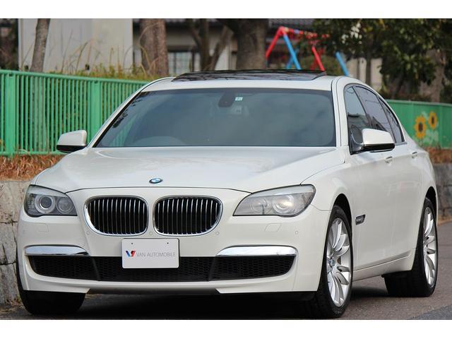 BMW 740i Mスポーツ 黒革SR ナビTV DVD M専用装備
