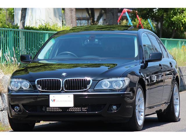 BMW 740i コンフォートP 黒革 サンルーフ ナビ 19AW