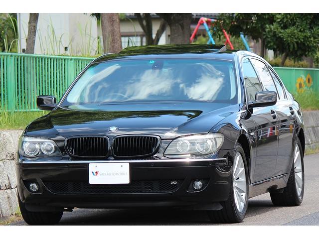 BMW 750Li シアターPカスタム R席モニター 改ドアカーテシ