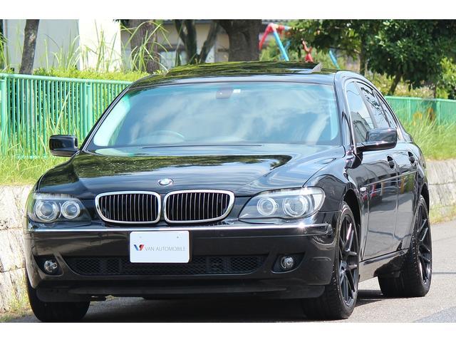 BMW 740i コンフォートP 革SR ナビ 社外19AW HID