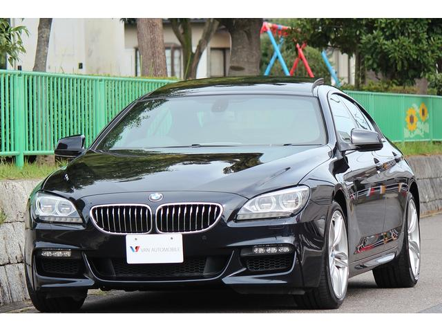 BMW 640iグランクーペ Mスポーツパッケージ 1オーナー SR