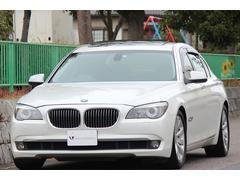 BMW740LiコンフォートP ナビTV DVD LEDイカリング