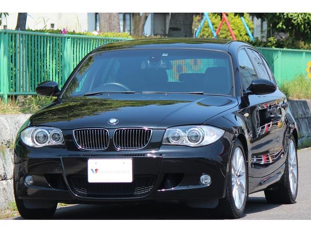 BMW 130i Mスポーツ6MT 17AW 革 ナビ BPマフラー