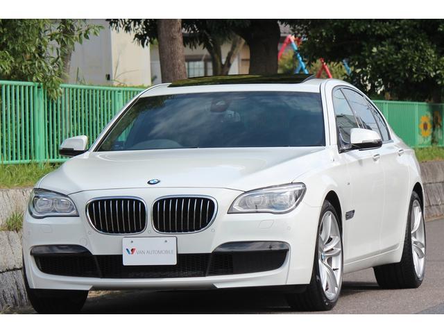 BMW 740i Mスポーツパッケージ 1オーナー車・後期ファイナル仕様・NEW iDrive・Mスポーツpkg・サンルーフ・電動パワステ・車線逸脱警告・Mレザースポーツシート・Mレザースポーツステアリング・パドルシフト・LEDライト