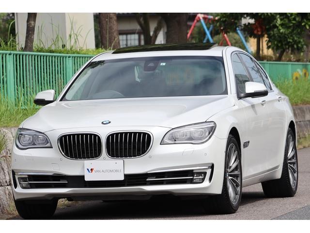 BMW 7シリーズ アクティブハイブリッド7 法人1オーナー・コンフォートP・ヘッドアップディスプレイ・19インチ鍛造AW・サンルーフ・ソフトクローズドア・スマートキー・ドライビングアシスト・オートトランク・ナビ・TV・DVD・Bluetooth