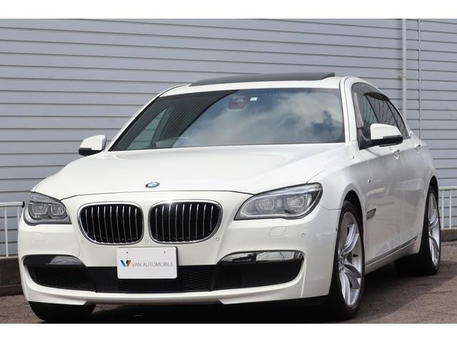 BMW アクティブハイブリッド7 Mスポーツパッケージ Mエアロダイナミクス・M 20インチAW・Individual ハイグロスシャドーライン・オートトランク・スマートキー・ヘッドアップディスプレイ・ドライビングアシストプラス・黒革・TV・Bカメラ