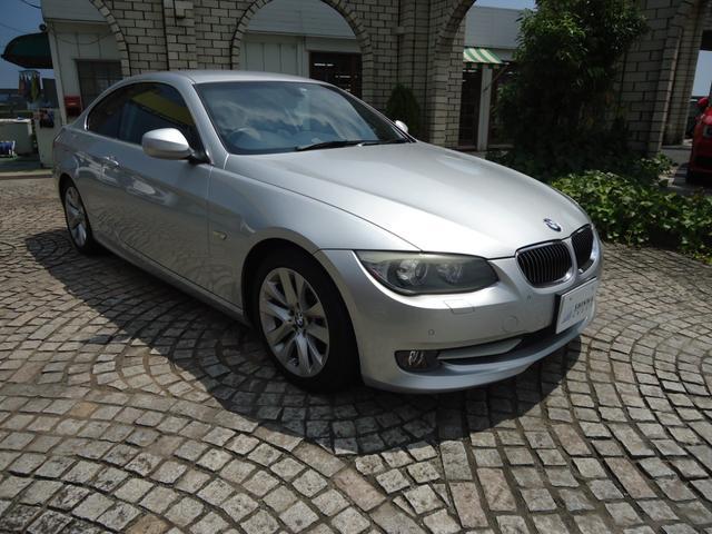 BMW 3シリーズ 325i クーペ AT 禁煙車 ブラックレザー/パワーシート 純正ナビ/フルセグTV 純正ETC 純正17インチアルミ 取扱説明書 スペアキー