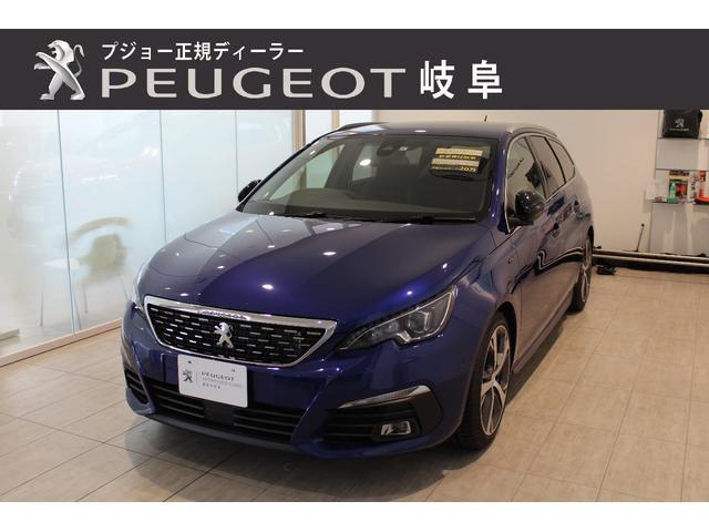 プジョー SW GT  新車保障継承 アップルカープレイ