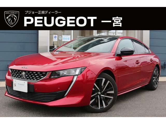 プジョー GT ブルーHDi 純正ナビ ETC2.0