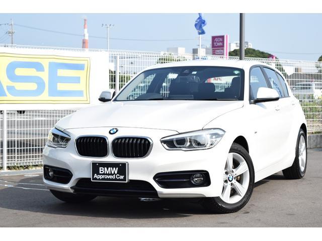 BMW 118i スポーツ 認定中古車全国1年保証付 パーキングサポートパッケージ ワンオーナー車