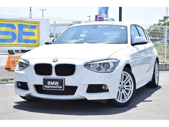 BMW 1シリーズ 120i Mスポーツ 認定中古車全国1年保証付 タイヤ4本新品付 Carrozzeria製 テレビ&ナビ