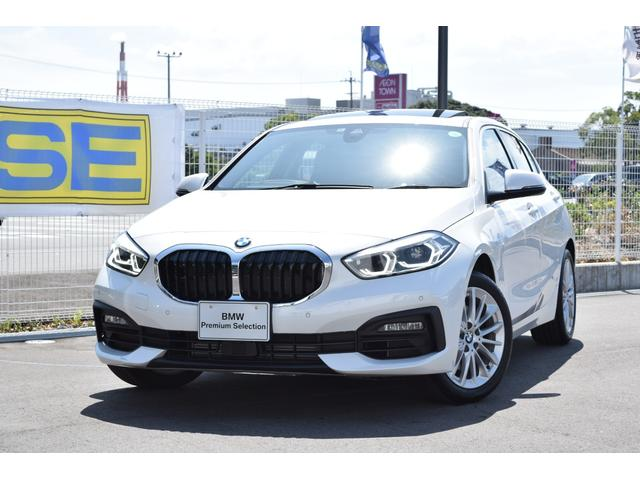 BMW 118i プレイ 認定中古車全国2年保証付 ナビゲーションパッケージ ビジョンパッケージ コンフォートパッケージ ハイラインパッケージ パノラマサンルーフ デモカーアップ