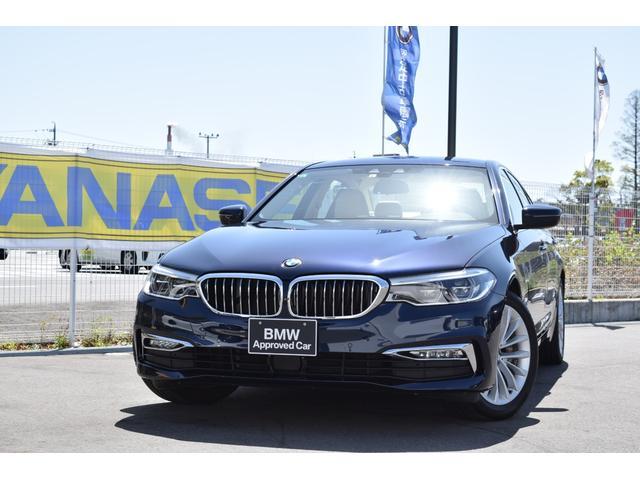 BMW 5シリーズ 530iラグジュアリー 認定中古車全国1年保証付 左ハンドル車 ワンオーナー車 キャンベラベージュレザー