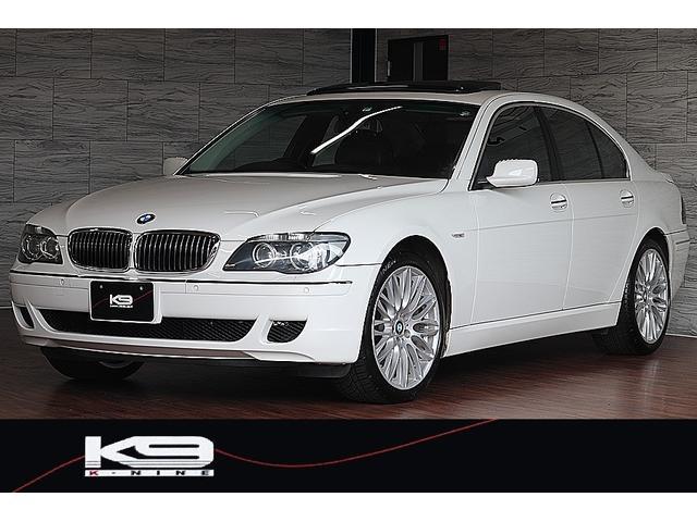 BMW 7シリーズ 740i 純正オプションBBS鋳造20インチAW サンルーフ アルピンホワイトIII