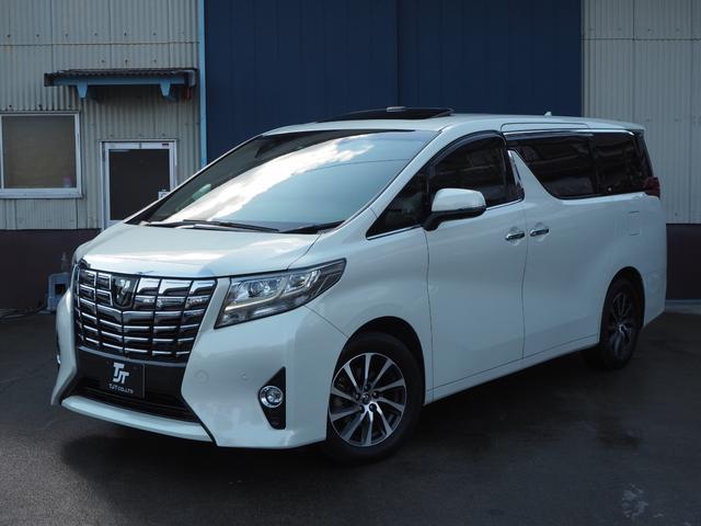 トヨタ 3.5エグゼクティブラウンジ サンルーフ 黒革 JBL