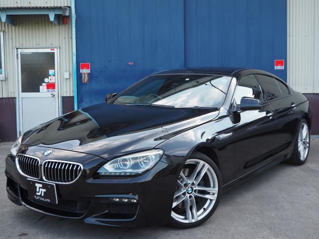 BMW 6シリーズ 640iグランクーペ Mスポーツパッケージ サンルーフ ナビ クリアランスソナー クルーズコントロール Bluetooth ステアリングスイッチ シートヒーター ETC パワーシート