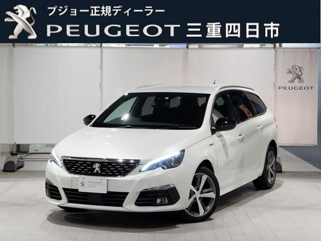 プジョー SW GTライン ブルーHDi 1,5T 元試乗車