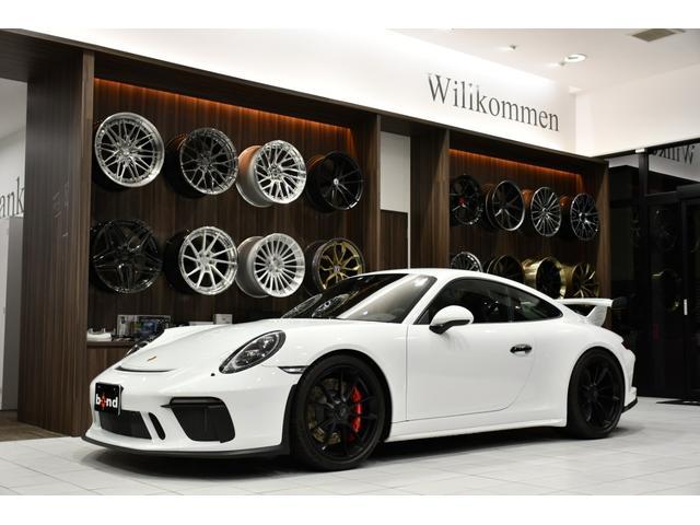 ポルシェ 911GT3 クラブスポーツPKG スポーツクロノPKG カーボンインテリアPKG カーボンバケットシート ホワイトステッチ