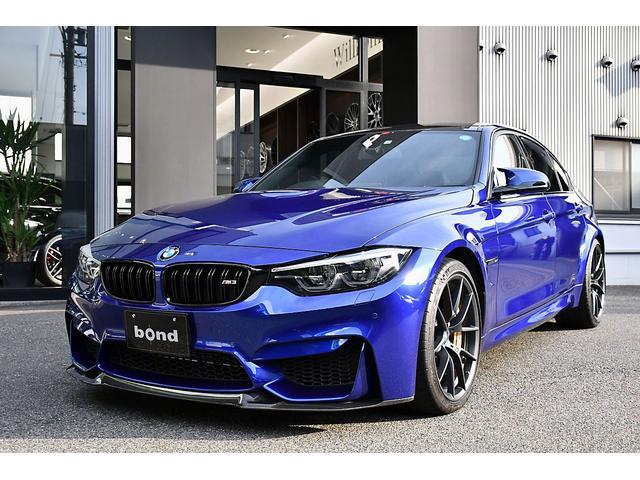 BMW M3 CS 限定30台 カーボンブレーキ ゴールドキャリパー