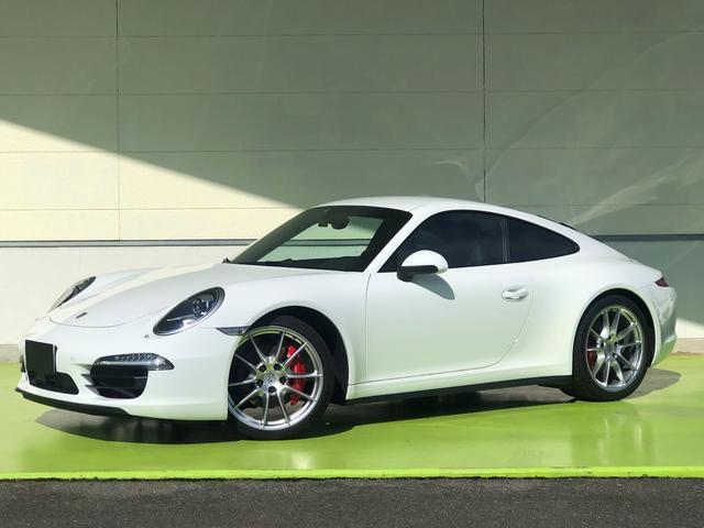 ポルシェ 911カレラ4S PDK 左H ACC スポーツクロノ D車
