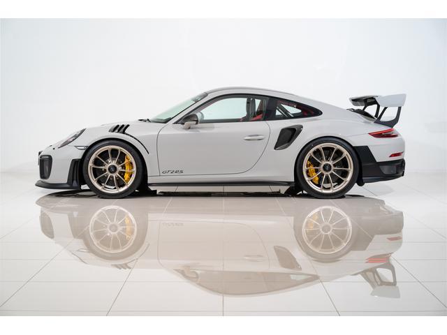 ポルシェ 911GT2 RS ヴァイザッハPKG クレヨン OP547 クラブスポーツPKG LEDブラックヘッド Fリフト スポーツクロノ レザーインテリアPKG ホワイトメーター ホワイトクロノダイアル バックカメラ