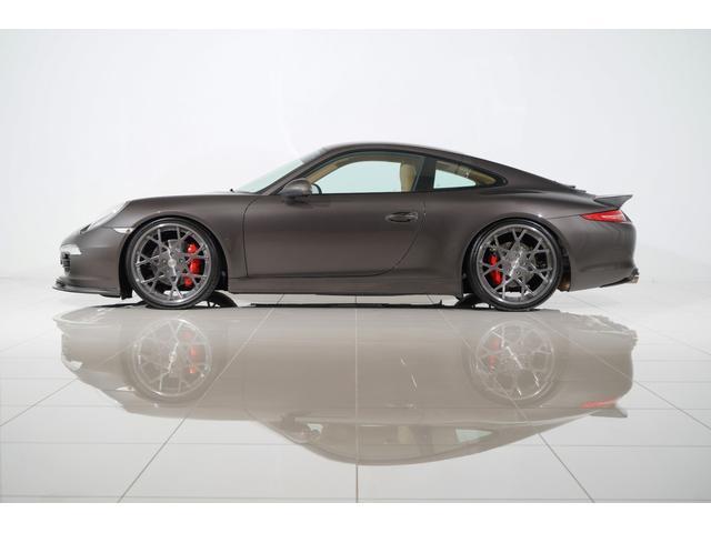 ポルシェ 911 911カレラS ヨーロッパ新車並行 レザーインテリア スポクロ BOSE 本国PCM+地デジ AGIO 21inch JRZ車高調 Kohlenstoffマフラー&カーボンエアロ(Fリップ/Rスポ/Rディフーザー)