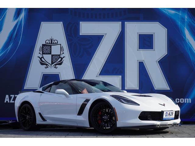 シボレー シボレーコルベット Z06 新車並行車 C7 ヘッドアップディスプレイ バックスキンレザーステアリング シートヒーター シートクーラー BOSEプレミアム9スピーカーシステム オプションガラスルーフ ホイールブラック塗装
