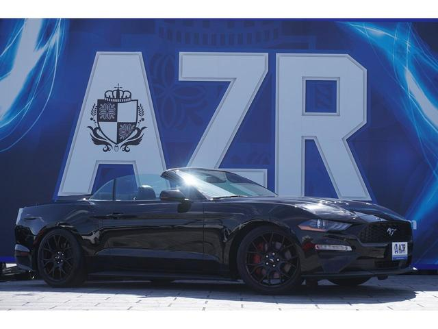 フォード マスタング コンバーチブル 走行証明書付き オイルプレッシャー ブースゲージ デジタルメーター シートヒーター&クーラー 純正18インチAW アップルカープレイ アンドロイドオート ステアリングヒーター