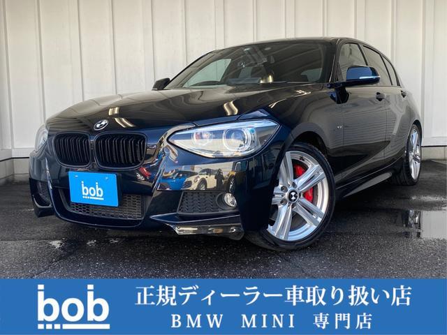 BMW 1シリーズ 120i Mスポーツ ブラックグリル&ブラックエンブレム アンドロイドナビ Bluetooth AUX 純正Mスポ17AW レッドブレーキキャリパー スマートキー ドラレコ ETC 修復歴無車 禁煙車 正規ディーラー車