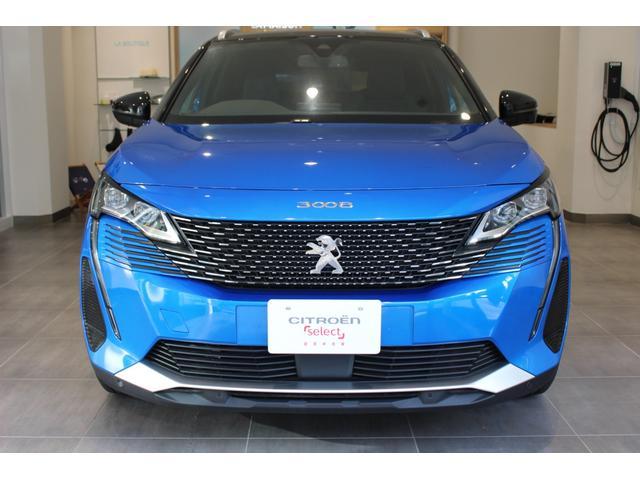 プジョー GT ブルーHDi 登録済未使用車 アクティブセーフティブレーキ インテリジェントハイビーム フロントバックソナー LEDヘッドライト エレクトリックパーキングブレーキ