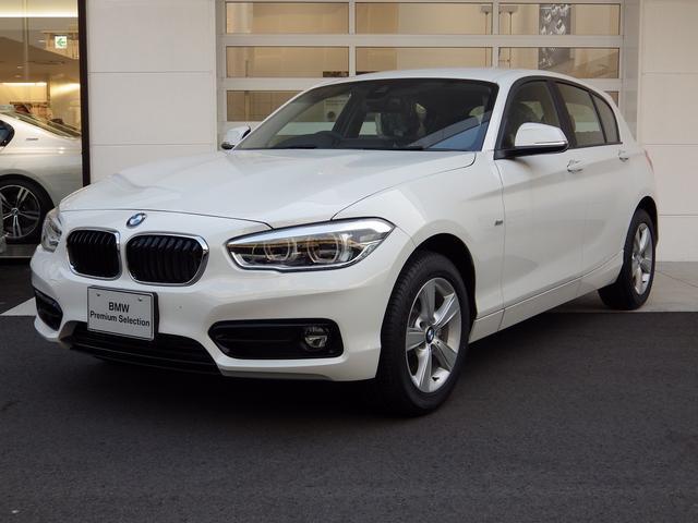BMW LCI 118i スポーツ 白 純ナビ 衝突安全 LED