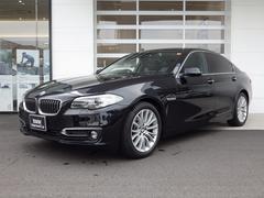 BMW523i ラグジュアリー 黒革 シートヒータ 純ナビ 地デジ