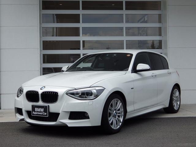 BMW 116i Mスポーツ 白 1.6Lターボ ETC 純ナビ