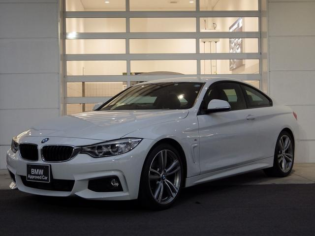 BMW 420iクーペ Mスポーツ ACC OP19AW 衝突安全