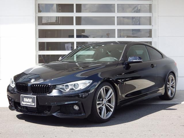 BMW 435iクーペ Mスポ 直6 3Lターボ 左H 黒革 ACC