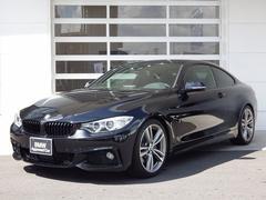 BMW435iクーペ Mスポ 直6 3Lターボ 左H 黒革 ACC