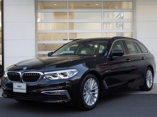BMW 523dツーリングLux ベージュ革シート&ヒーター ACC