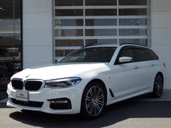 BMW530iツーリング Mスポ 黒革電動シート 電動テール