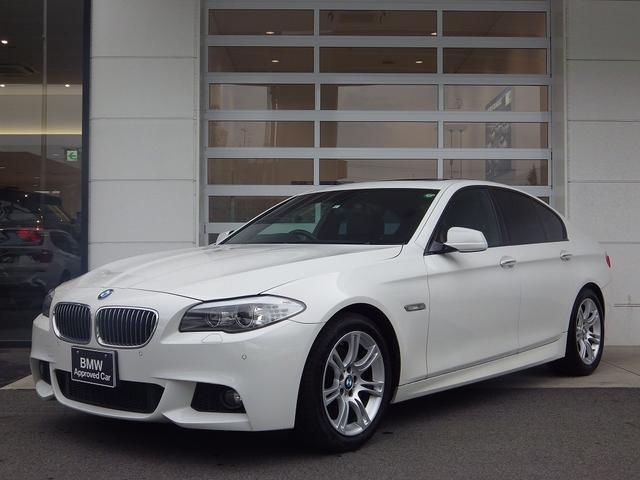 BMW 528i Mスポ 直6 サンルーフ 純ナビ 黒革 ETC