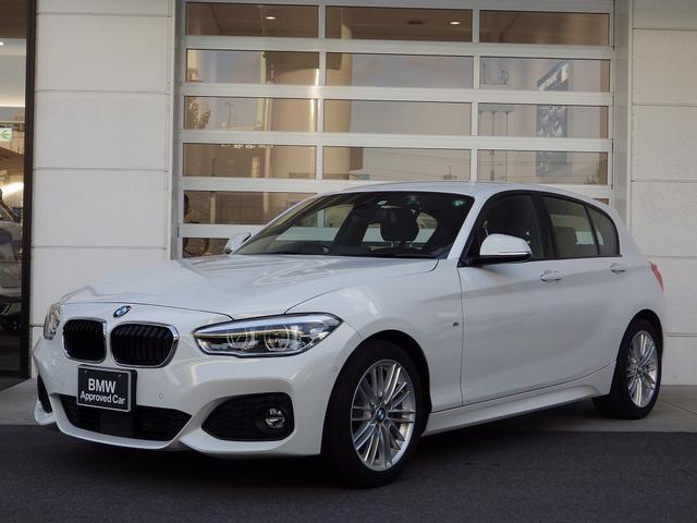 BMW 1シリーズ 118d Mスポーツ ACC 純ナビ 衝突被害軽減ブレーキ LED スマートキー クリアランスソナー 18AW RFT