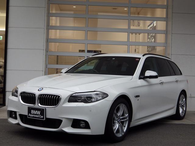 BMW 5シリーズ 523dツーリング Mスポーツ 純ナビ アクティブクルーズコントロール パワーバックドア 電動シート バックカメラ ウッドトリム 18AW