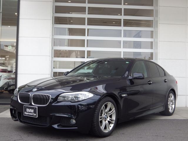 BMW 5シリーズ 523dブルーパフォーマンスMスポーツパッケージ スマートキー クルーズコントロール バックカメラ カーナビ純正(TV搭載) 18インチアルミホイール